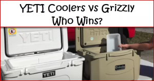 Grizzly Coolers vs YETI Coolers (results)